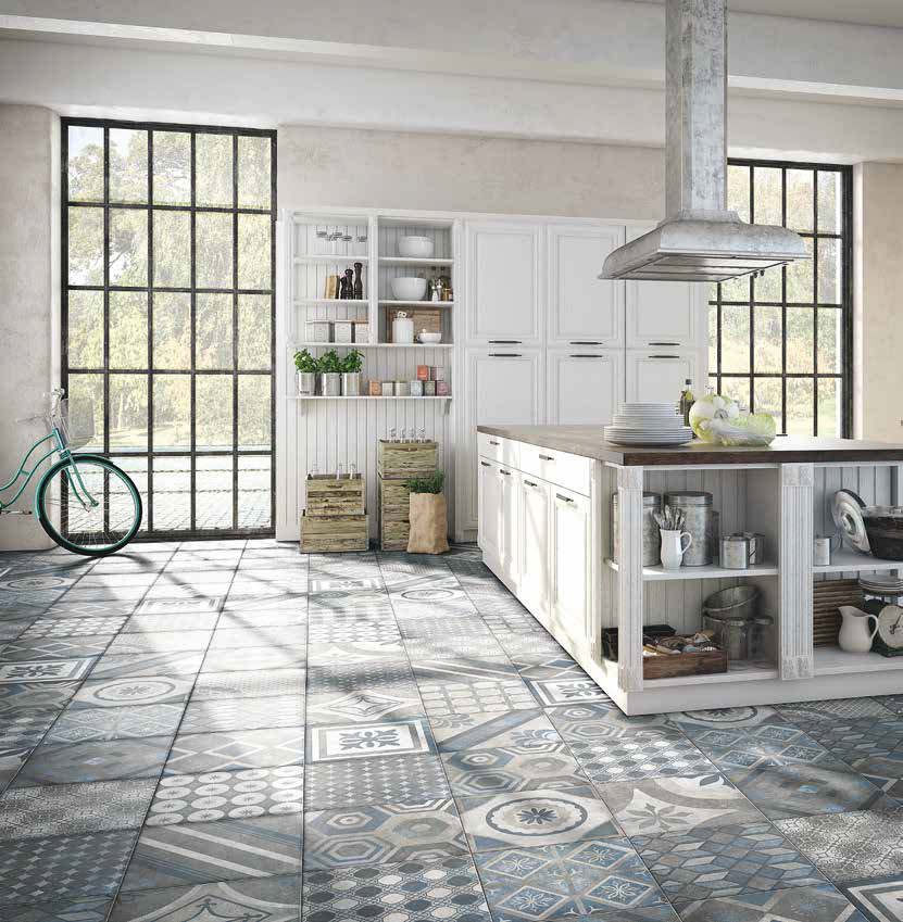 Kitchen Floor Tiles Design Malaysia: FRENCH QUARTER BOURBON 400x400x10.5 в интернет-магазине